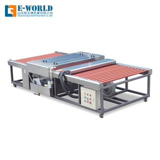 Horizontal Insulating Heavy Duty Glass Cleaning Machine