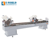 Double Head Cutting Vinyl Profile Window UPVC Window Machine