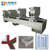 UPVC PVC Window Making Machine with Seamless Welding Cleaning