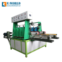 Double side glass straight edging machine