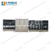 Vertical Double Glazing Glass Machine