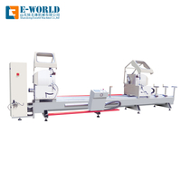 CNC full automatic double head miter saw