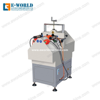 UPVC PVC Profile Window V Shape Cutting Saw Machine