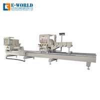Digital Display Aluminum Profile Double Miter Saw