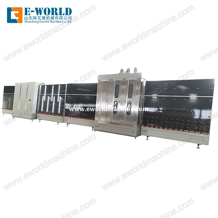 Automatic Double Glazing Glass Machine