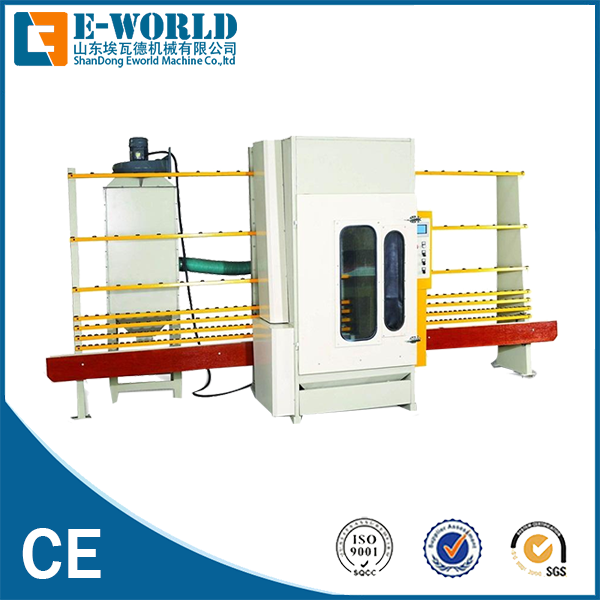 Vertical PLC Control Automatic Glass Sandblasting Machine