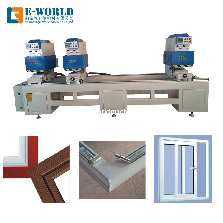 UPVC Doors Frame Combination Windows Frame Welding Equipment