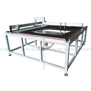 Manual mosaic Glass cutting table And Machine with 20 Knives