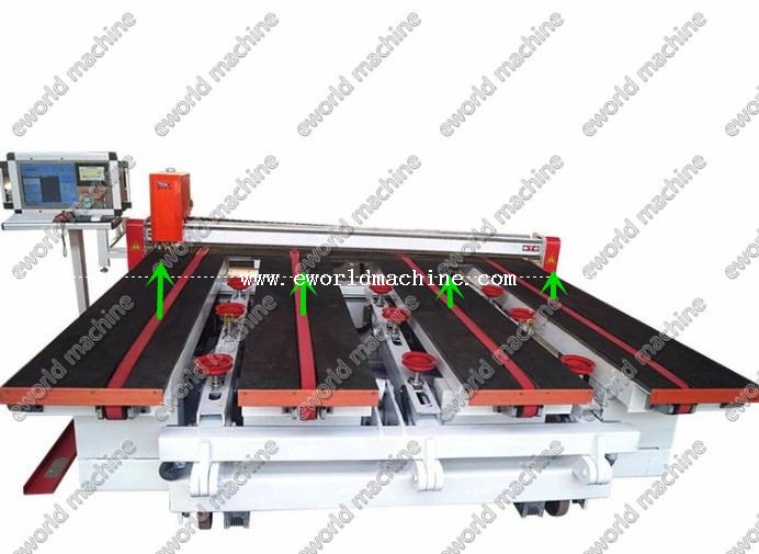 Automatic Glass Loading Cutting And Breaking Machine