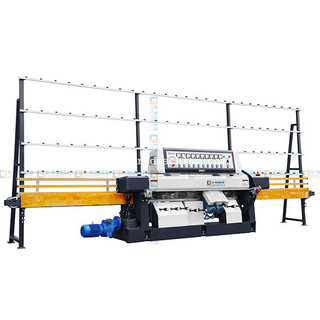 PLC controller automatic straight line glass polishing machine