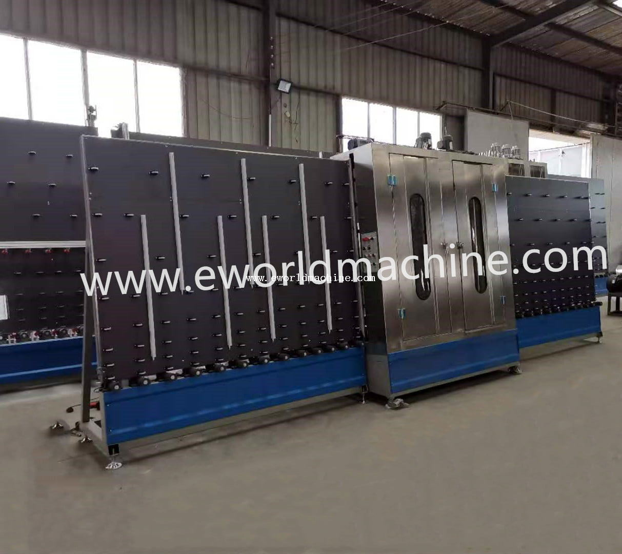 Glass straight pencil edge grinding machine