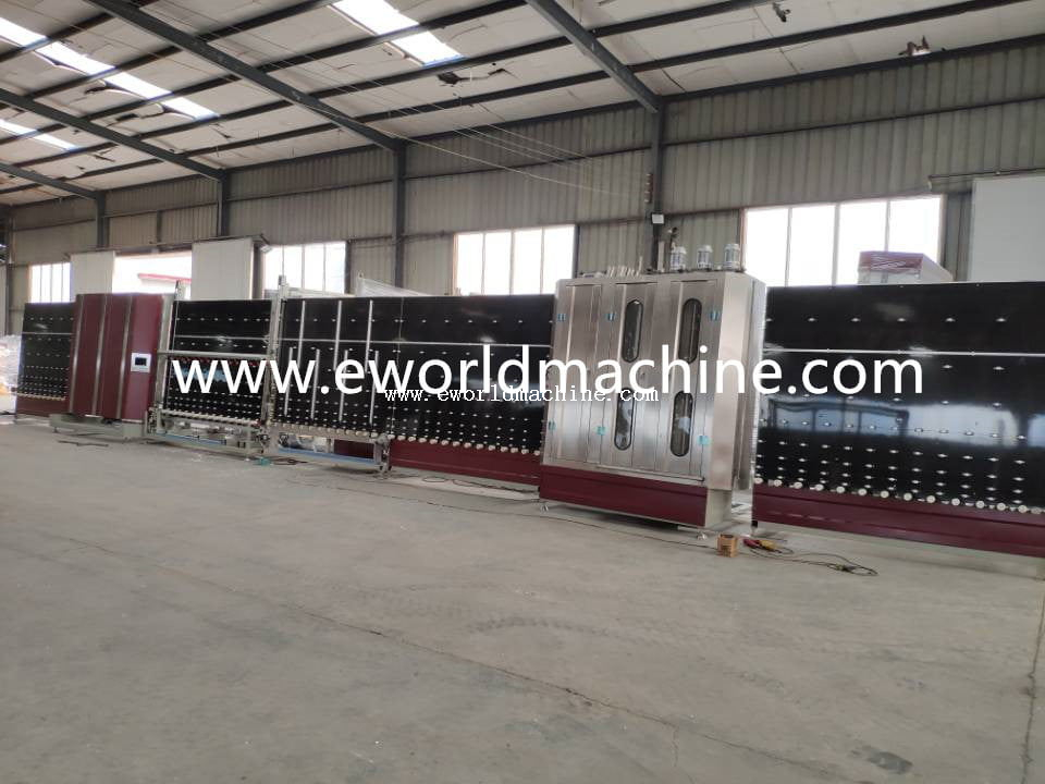 Vertical Double Glazing Insulating Glass Machine