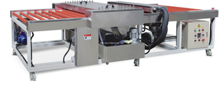 automatic glass cleaning and drying machine