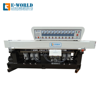 9 Motors Glass Edging Polishing Machine For Flat Glass