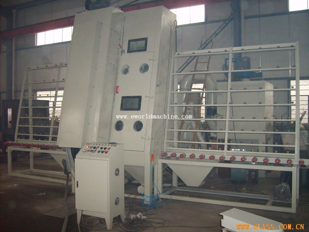 Vertical Glass Drilling Machine PLC Control Machine
