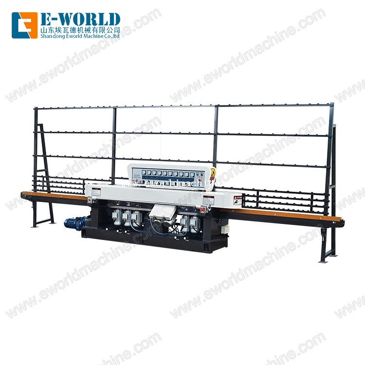 Glass Straight Line Edging Machine with 9 Motors