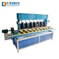 Horizontal Glass Machinery 7 Spindles Glass Edging&Polishing Machine