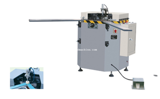 Hydraulic aluminum window and door crimping machine