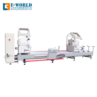 Aluminum Window Door CNC Double Head Cutting Saw