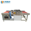 Automatic Horizontal Screen Printing Glass Washing Machine