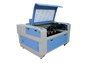 Mini Wood Plastic Rubber Laser Engraving Machine