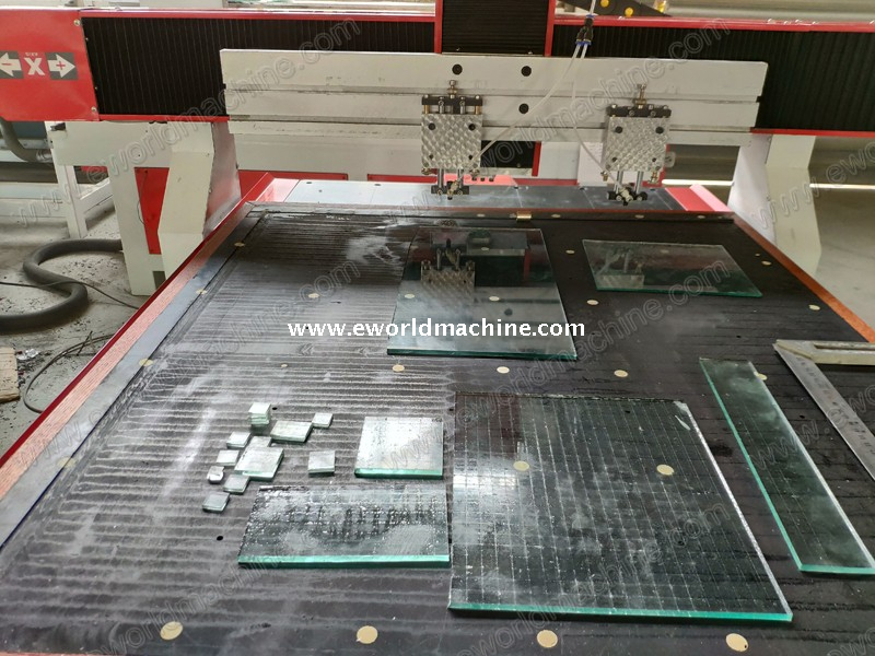 Round Flat Arc Glass Cutting Machine